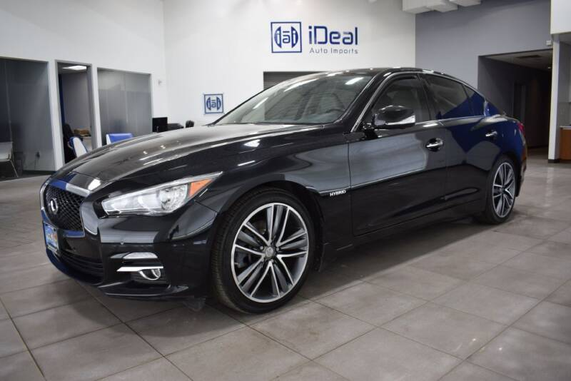 2017 Infiniti Q50 Hybrid for sale at iDeal Auto Imports in Eden Prairie MN