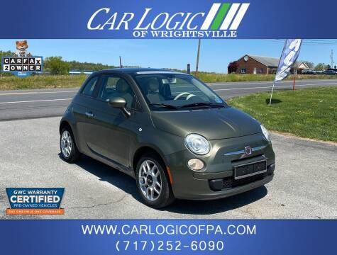 2012 FIAT 500 for sale at Car Logic in Wrightsville PA