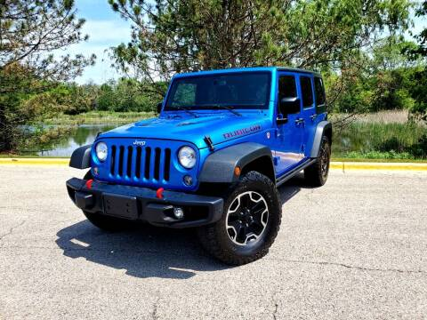 2016 Jeep Wrangler Unlimited for sale at Excalibur Auto Sales in Palatine IL