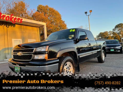 2006 Chevrolet Silverado 1500 for sale at Premier Auto Brokers in Virginia Beach VA