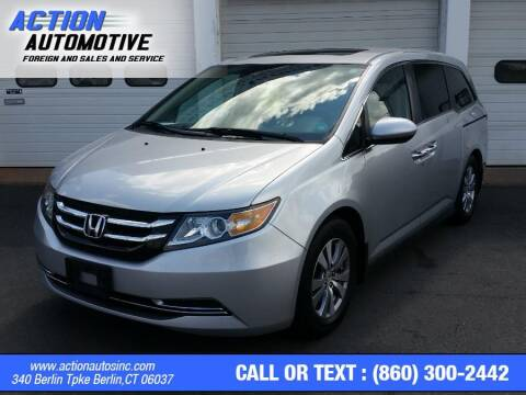 2014 Honda Odyssey for sale at Action Automotive Inc in Berlin CT