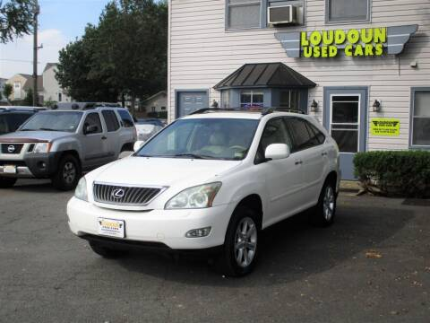 2009 Lexus RX 350 for sale at Loudoun Used Cars in Leesburg VA
