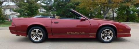 1987 Chevrolet Camaro for sale at WEST PORT AUTO CENTER INC in Fenton MO