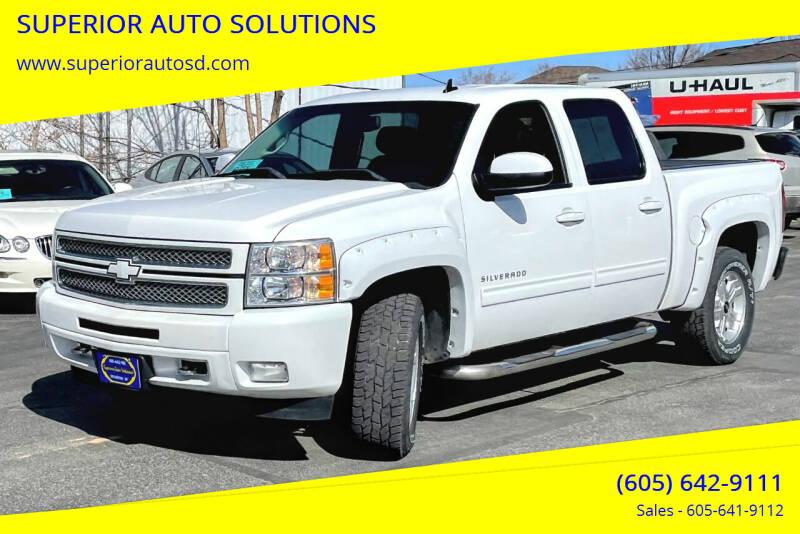 2012 Chevrolet Silverado 1500 for sale at SUPERIOR AUTO SOLUTIONS in Spearfish SD