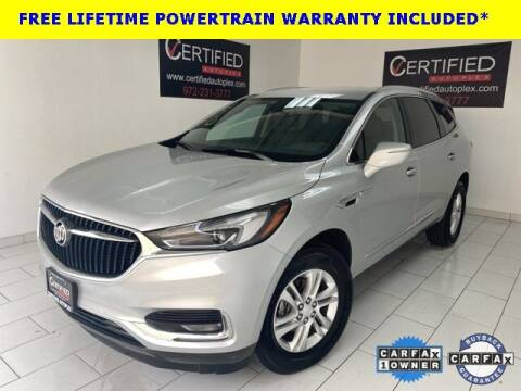 2019 Buick Enclave for sale at CERTIFIED AUTOPLEX INC in Dallas TX