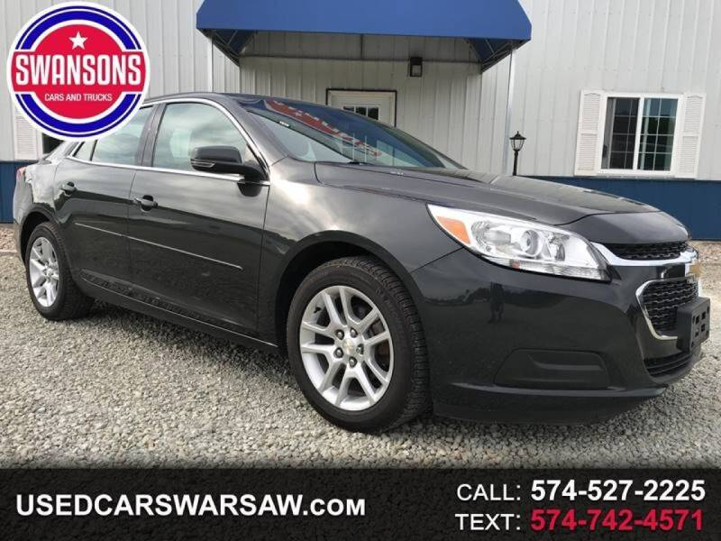 2016 Chevrolet Malibu Limited for sale at Swanson's Cars and Trucks in Warsaw IN