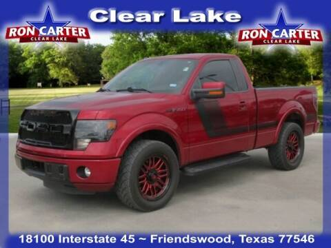 2014 Ford F-150 for sale at Ron Carter  Clear Lake Used Cars in Houston TX