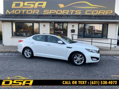 2012 Kia Optima for sale at DSA Motor Sports Corp in Commack NY