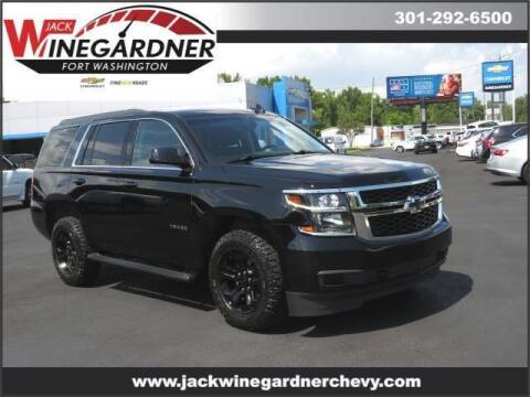 2020 Chevrolet Tahoe for sale at Winegardner Auto Sales in Prince Frederick MD