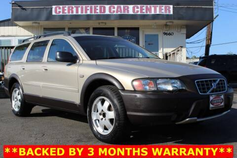 2004 Volvo XC70 for sale at CERTIFIED CAR CENTER in Fairfax VA