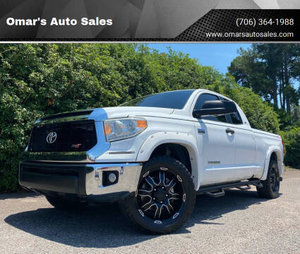 2014 Toyota Tundra for sale at Omar's Auto Sales in Martinez GA