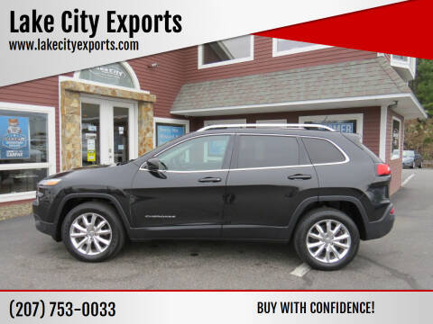 2014 Jeep Cherokee for sale at Lake City Exports in Auburn ME