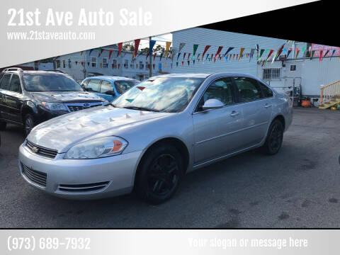 2007 Chevrolet Impala for sale at 21st Ave Auto Sale in Paterson NJ