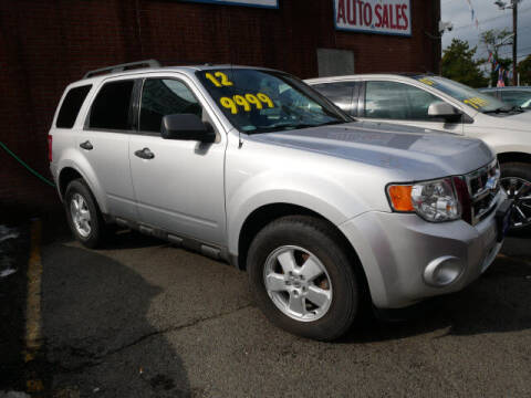 2012 Ford Escape for sale at MICHAEL ANTHONY AUTO SALES in Plainfield NJ