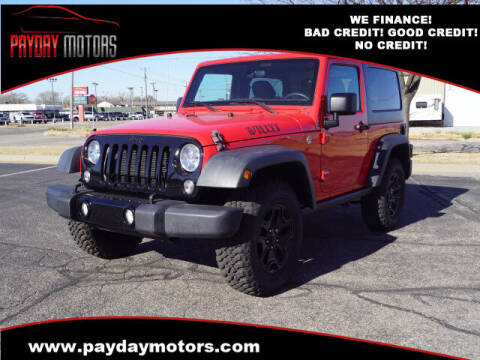 2018 Jeep Wrangler JK for sale at Payday Motors in Wichita And Topeka KS
