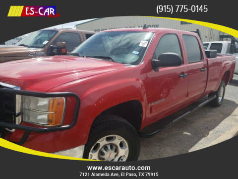 2008 GMC Sierra 2500HD for sale at Escar Auto - 9809 Montana Ave Lot in El Paso TX