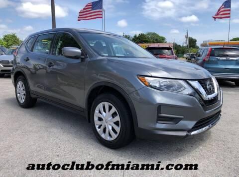 2018 Nissan Rogue for sale at AUTO CLUB OF MIAMI, INC in Miami FL