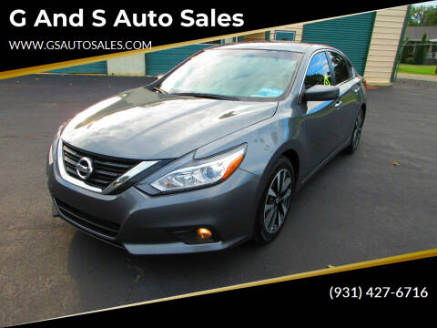 2018 Nissan Altima for sale at G and S Auto Sales in Ardmore TN