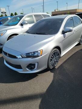 2017 Mitsubishi Lancer for sale at COYLE GM - COYLE NISSAN - New Inventory in Clarksville IN