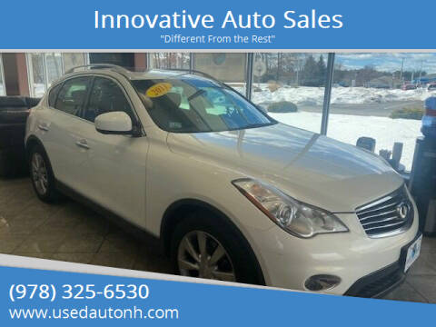 2011 Infiniti EX35 for sale at Innovative Auto Sales in North Hampton NH