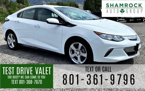 2018 Chevrolet Volt for sale at Shamrock Group LLC #1 in Pleasant Grove UT