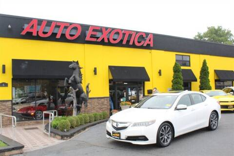 2015 Acura TLX for sale at Auto Exotica in Red Bank NJ
