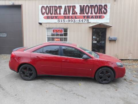 2006 Pontiac G6 for sale at Court Avenue Motors in Adel IA