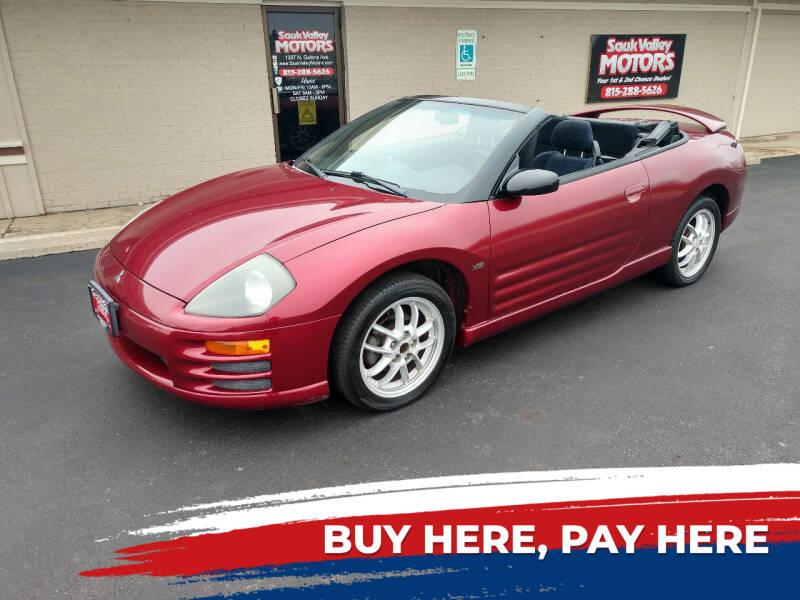 2002 Mitsubishi Eclipse Spyder for sale in Dixon, IL