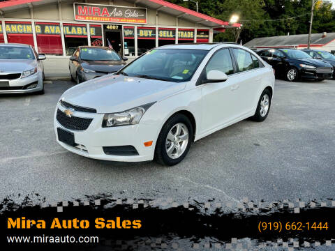 2011 Chevrolet Cruze for sale at Mira Auto Sales in Raleigh NC