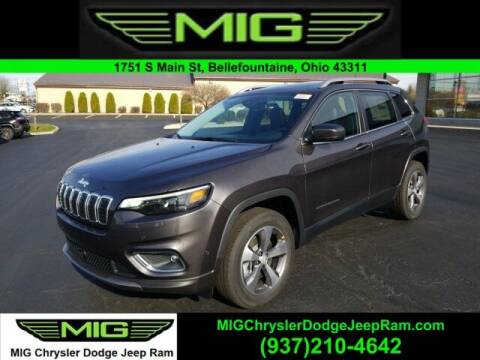 2021 Jeep Cherokee for sale at MIG Chrysler Dodge Jeep Ram in Bellefontaine OH