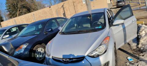 2012 Hyundai Elantra for sale at JORDAN AUTO SALES in Youngstown OH