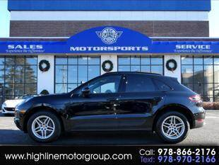 2017 Porsche Macan for sale at Highline Group Motorsports in Lowell MA