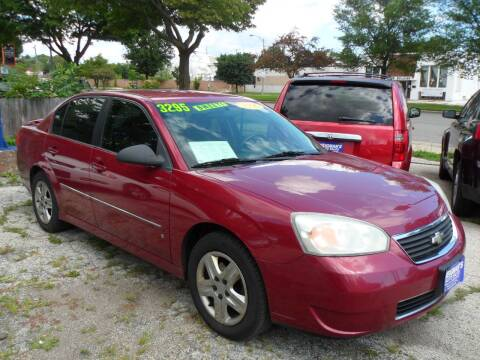 2006 Chevrolet Malibu for sale at Weigman's Auto Sales in Milwaukee WI