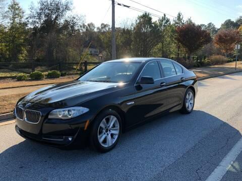 2013 BMW 5 Series for sale at Judex Motors in Loganville GA