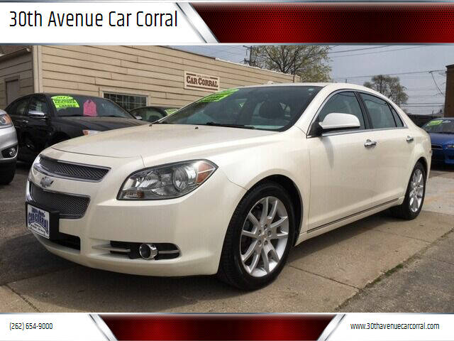 2012 Chevrolet Malibu for sale at 30th Avenue Car Corral in Kenosha WI