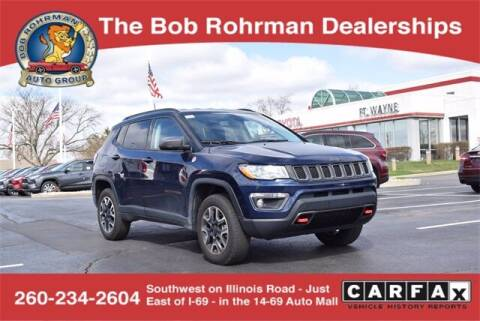 2019 Jeep Compass for sale at BOB ROHRMAN FORT WAYNE TOYOTA in Fort Wayne IN