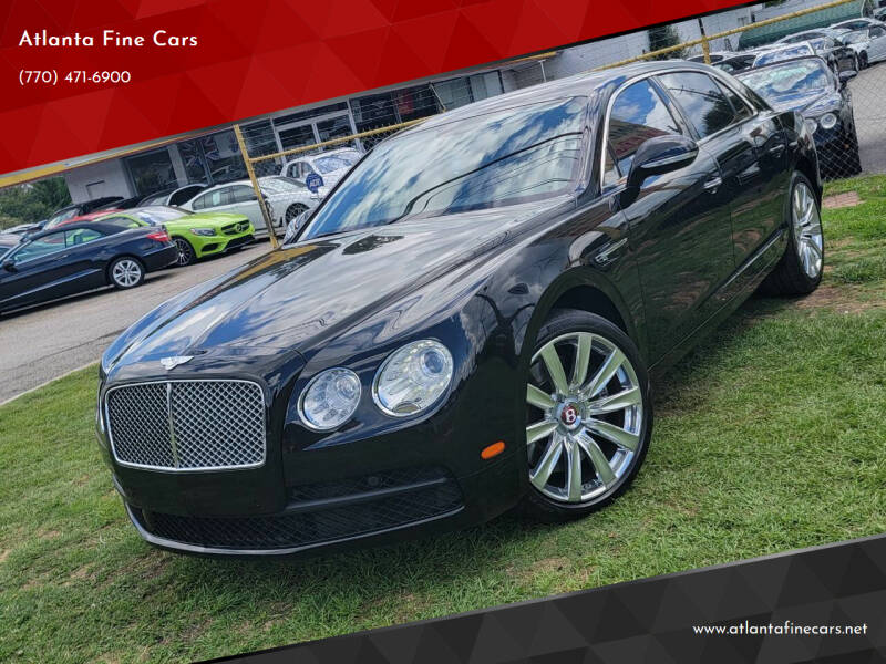 2015 Bentley Flying Spur for sale at Atlanta Fine Cars in Jonesboro GA