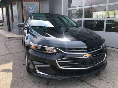 2018 Chevrolet Malibu for sale at Champs Auto Sales in Detroit MI
