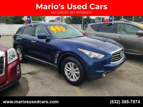 2013 Infiniti FX37 for sale at Mario's Used Cars - South Houston Location in South Houston TX