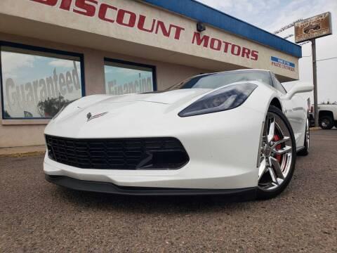 2015 Chevrolet Corvette for sale at Discount Motors in Pueblo CO