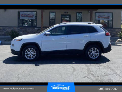 2016 Jeep Cherokee for sale at Rocky Mountain Motors in Idaho Falls ID