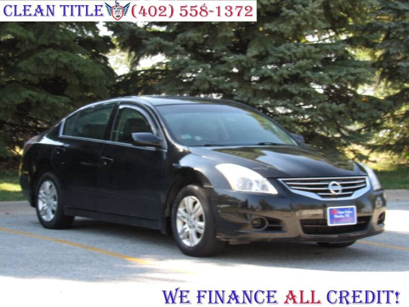 2010 Nissan Altima for sale at NY AUTO SALES in Omaha NE