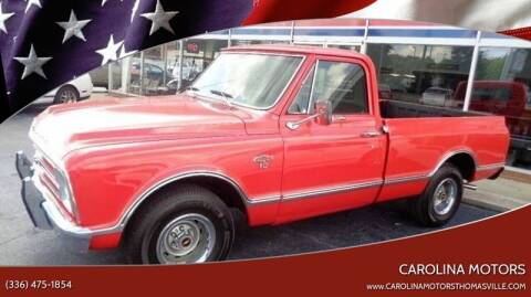 1967 Chevrolet C/K 1500 Series for sale at CAROLINA MOTORS - Carolina Classics & More-Thomasville in Thomasville NC