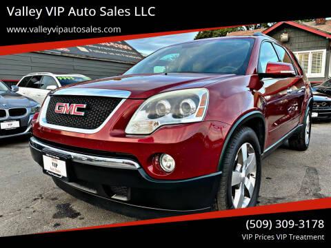 2011 GMC Acadia for sale at Valley VIP Auto Sales LLC - Valley VIP Auto Sales - E Sprague in Spokane Valley WA