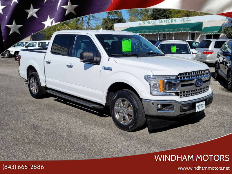 2018 Ford F-150 for sale at Windham Motors in Florence SC