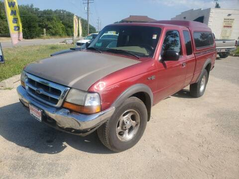 1999 Ford Ranger for sale at AMAZING AUTO SALES in Marengo IL