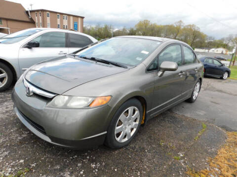 2008 Honda Civic for sale at WOOD MOTOR COMPANY in Madison TN