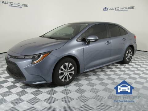 2021 Toyota Corolla Hybrid for sale at AUTO HOUSE TEMPE in Tempe AZ