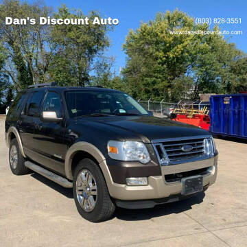 2008 Ford Explorer for sale at Dan's Discount Auto in Gaston SC
