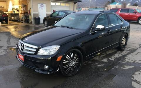 2008 Mercedes-Benz C-Class for sale at PLANET AUTO SALES in Lindon UT